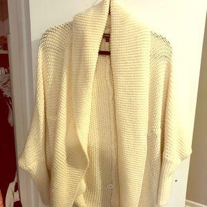 Express chunky knit dolman sweater
